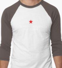 People's Republic of Newtown (White) Men's Baseball ¾ T-Shirt
