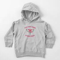 Turn That Frown Upside Down Toddler Pullover Hoodie
