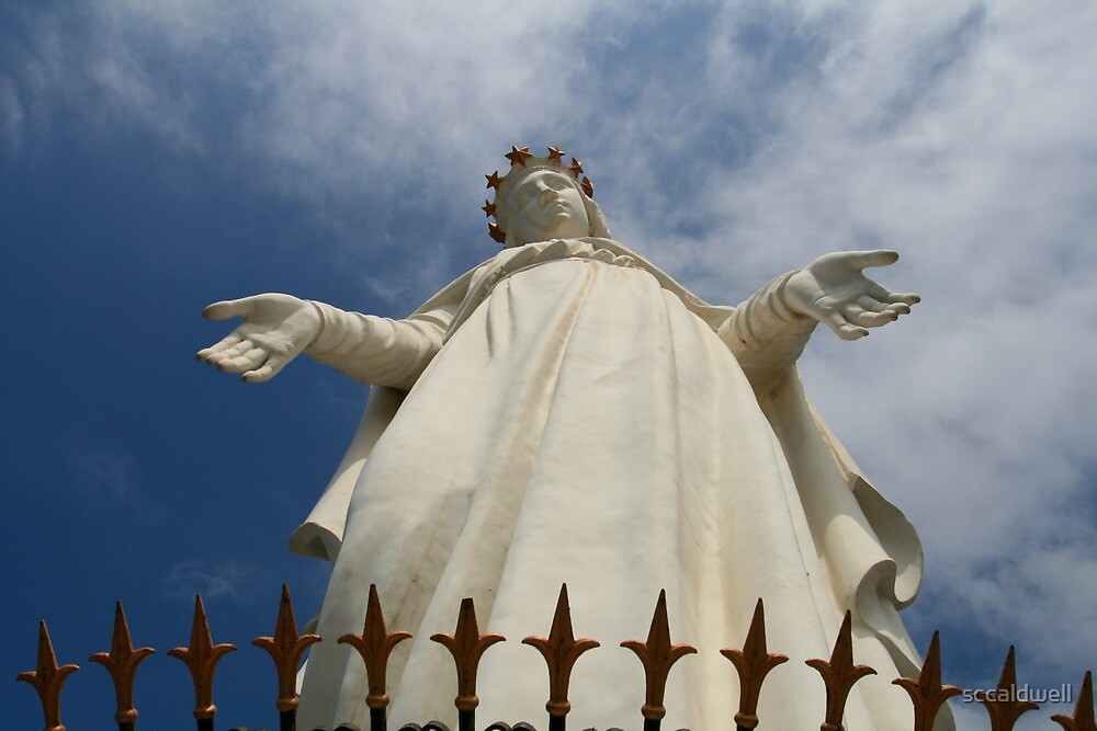 """""""Our Lady of Lebanon"""" (Saydet Libnan), Harissa by sccaldwell"""