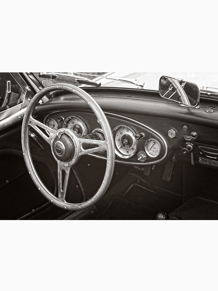Austin Healey 3000 Classic Sports Car Interior by robcole