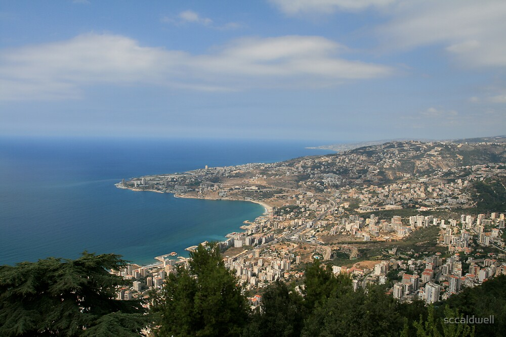 Jounieh Bay, Lebanon by sccaldwell