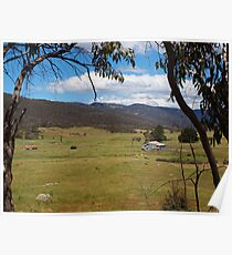 Ororal Valley - South of Canberra -  Australia. Poster