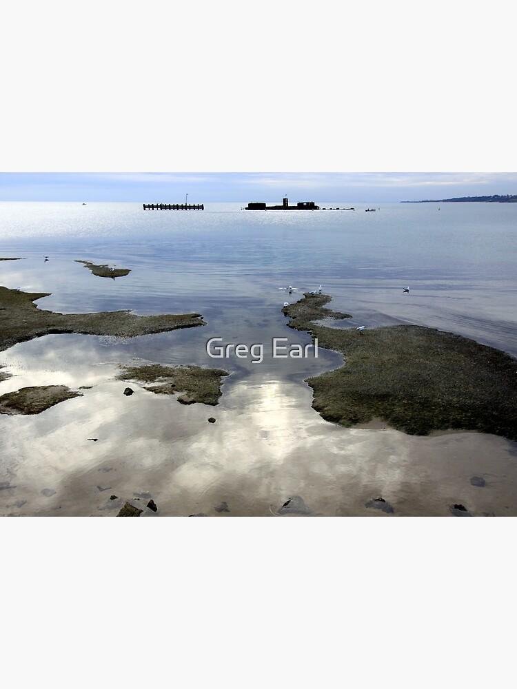 Winter Reflections - Half Moon Bay by GregEarl