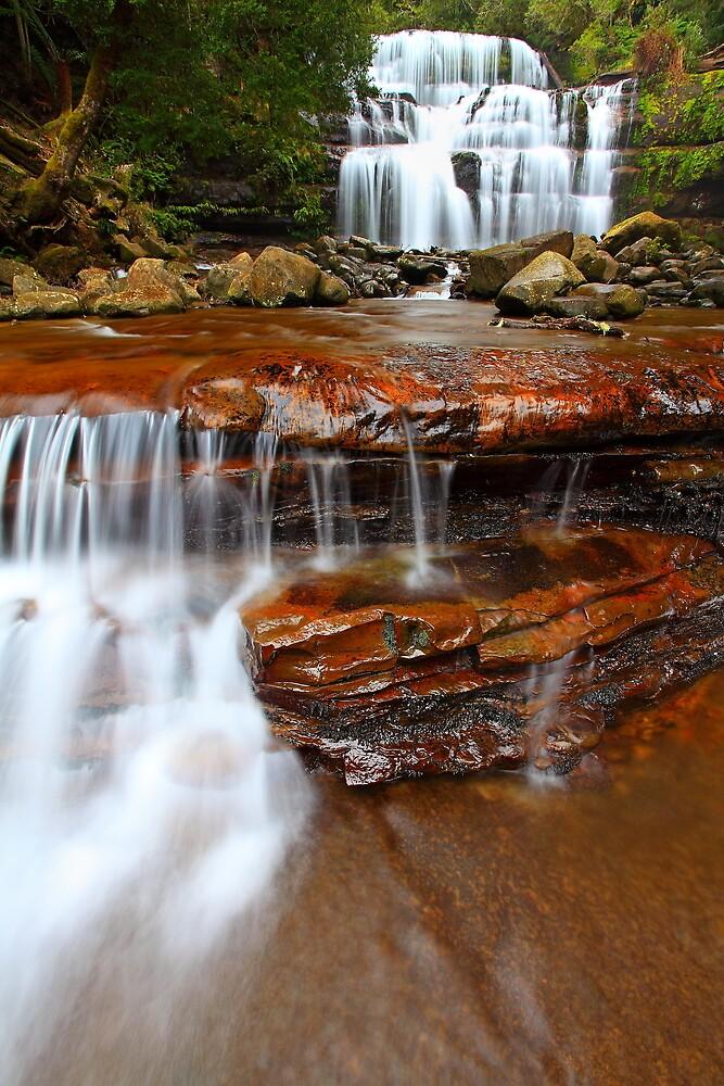 """Liffey Falls and Cascades"" by Husky"