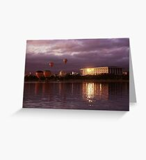 the National Library and the Balloons Greeting Card