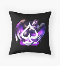Asexual Pride Dragon Throw Pillow