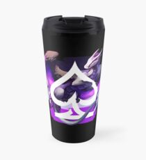 Asexual Pride Dragon Travel Mug