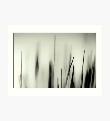 Abstract Moss Art Print