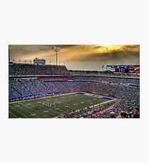 Ralph Wilson Stadium at Dusk Photographic Print