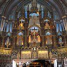 Basilica de Notre Dame, Montreal, PQ, Canada -2- by Bertspix1