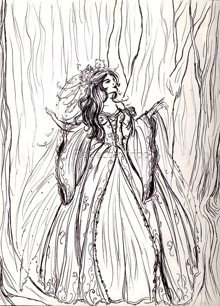 Queen of the Woods by Rebecca Tripp