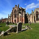 Melrose Abbey  by DHParsons