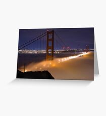 Fogged in at the Gate Greeting Card