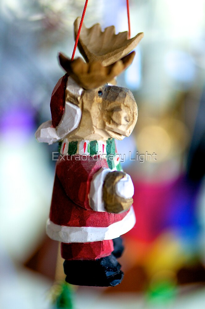 Reindeer Santa by Extraordinary Light