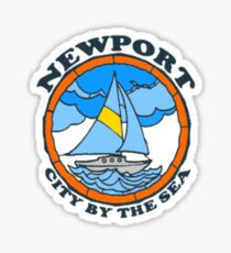 Newport Beach - Rhode Island. Sticker