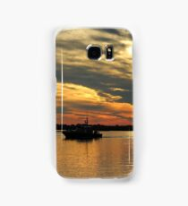 Sunset Over The Water Samsung Galaxy Case/Skin