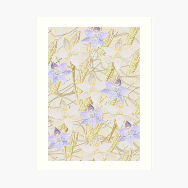 Sun Orchids Art Print