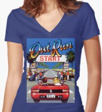 Women's V Neck OutRun T-shirt - Many Colors