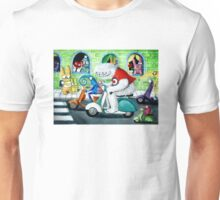 Scooter rally - Yeti and Co. Unisex T-Shirt