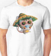 Mexican Dia de Los Muertos Cat Unisex T-Shirt