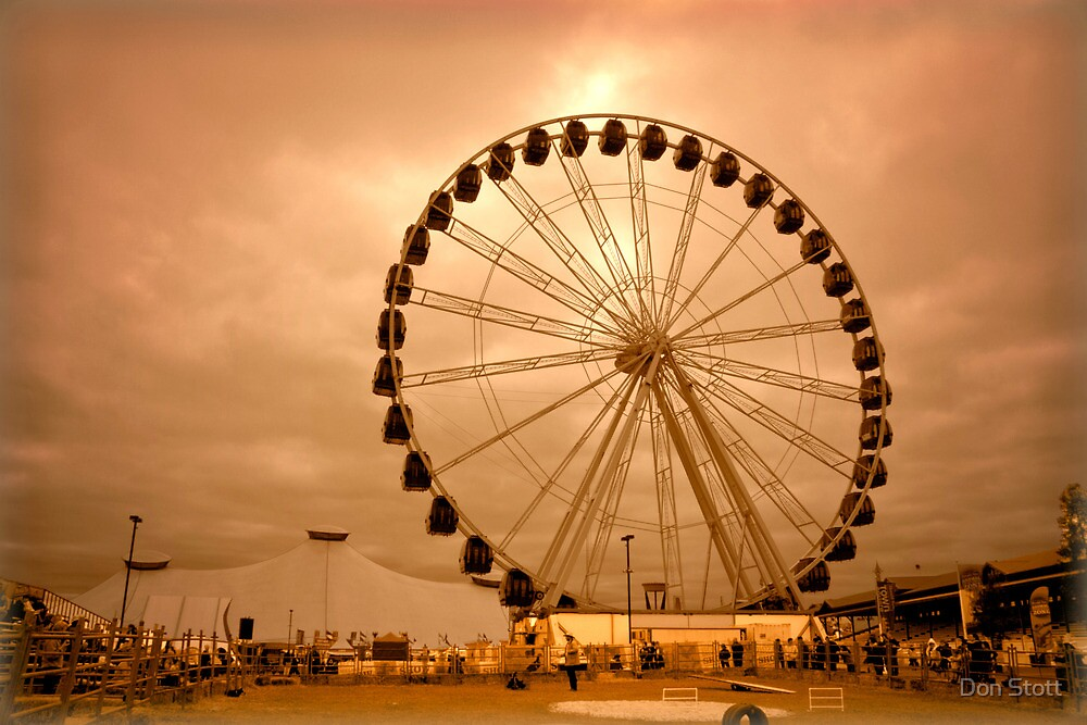 Show Wheel by Don Stott