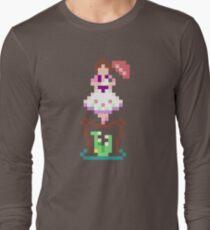 8-bit Haunted Mansion Tightrope Girl Long Sleeve T-Shirt
