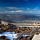 Mt Wellington, Hobart, Tasmania by Matthew Stewart