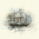 « Le voyageur » par Chrystelle Hubert