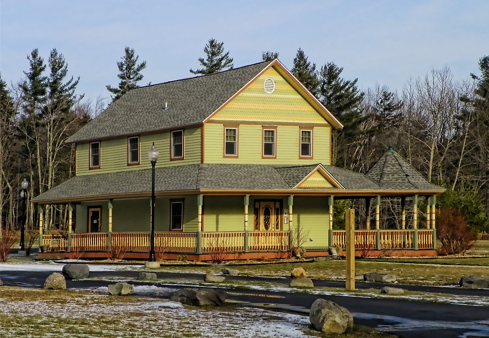Haines Falls Railway Station & Museum by Pamela Phelps