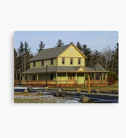 Haines Falls Railway Station & Museum Canvas Print
