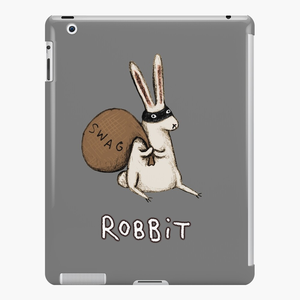Robbit iPad Case & Skin