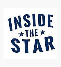 Inside The Star Retro Dos Photographic Print