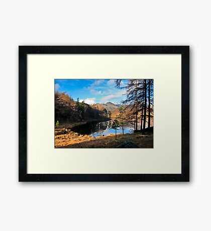 A Wonderful View of Blea Tarn Framed Print