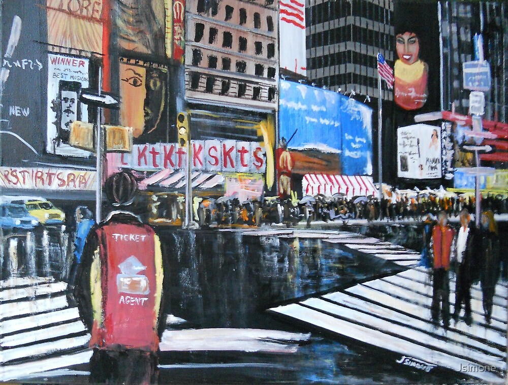 Broadway Shows, Manhattan, New York by Jsimone