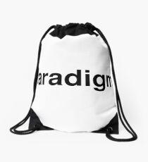 paradigm Drawstring Bag