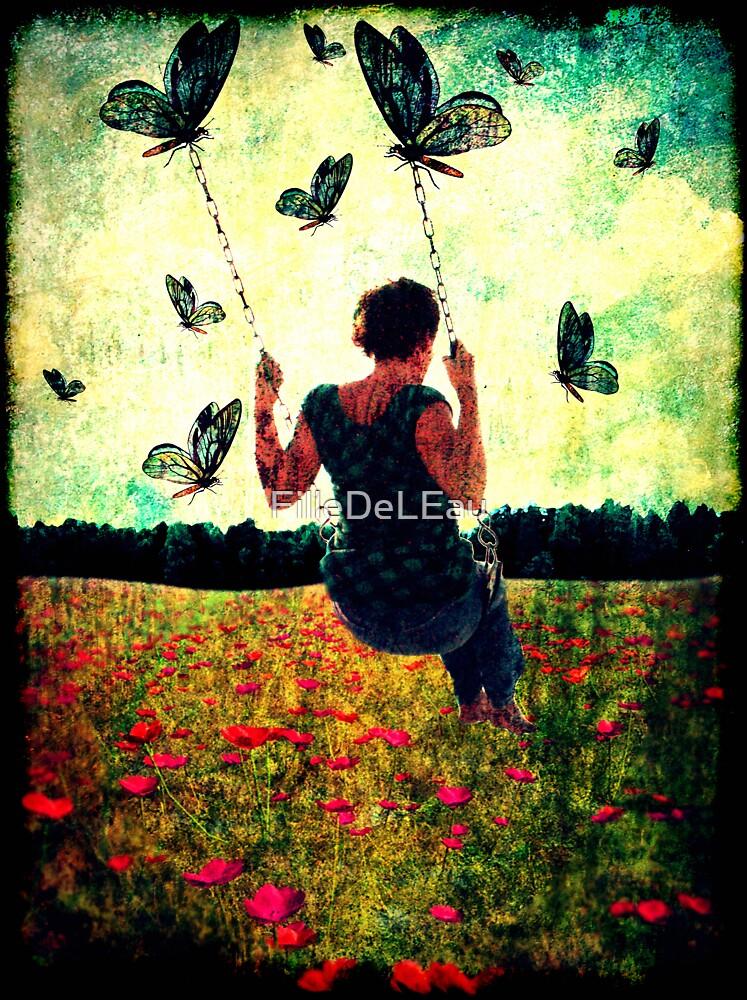 Wings of freedom by FilleDeLEau