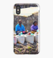 Street Spice Market in Nairobi, KENYA iPhone Case/Skin
