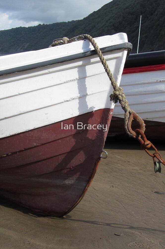 Old Boat, Clovelly by Ian Bracey