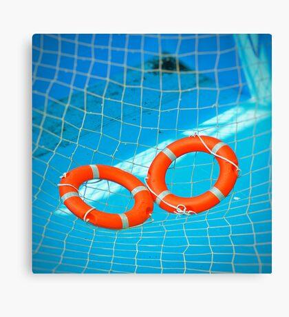 Lifesavers Canvas Print