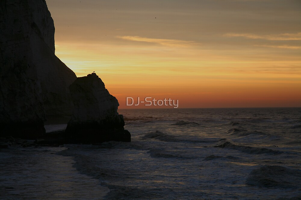 Sunrise at Seaford Head by DJ-Stotty