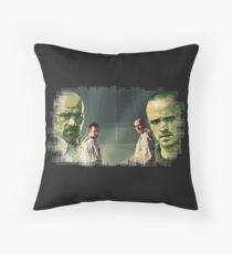 Heisenberg & Jesse Throw Pillow