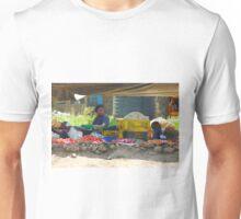 Family street market in Nairobi, KENYA Unisex T-Shirt