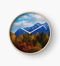 Seasons changing Clock