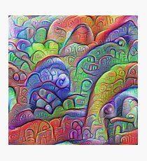 #DeepDream abstraction Photographic Print