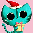 Cute Christmas Cat by colonelle
