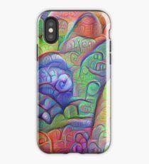 #DeepDream abstraction iPhone Case