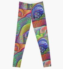 #DeepDream abstraction Leggings
