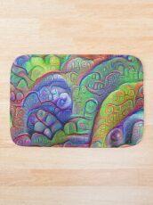 #DeepDream abstraction Bath Mat