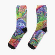 #DeepDream abstraction Sock