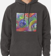 #DeepDream abstraction Pullover Hoodie